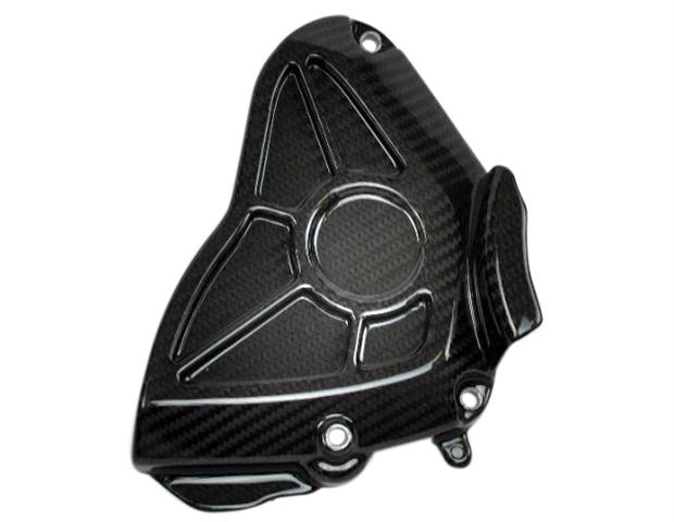 Sprocket Cover in 100% Carbon Fiber for Yamaha R1 2015+, FZ-10/MT-10 2017+